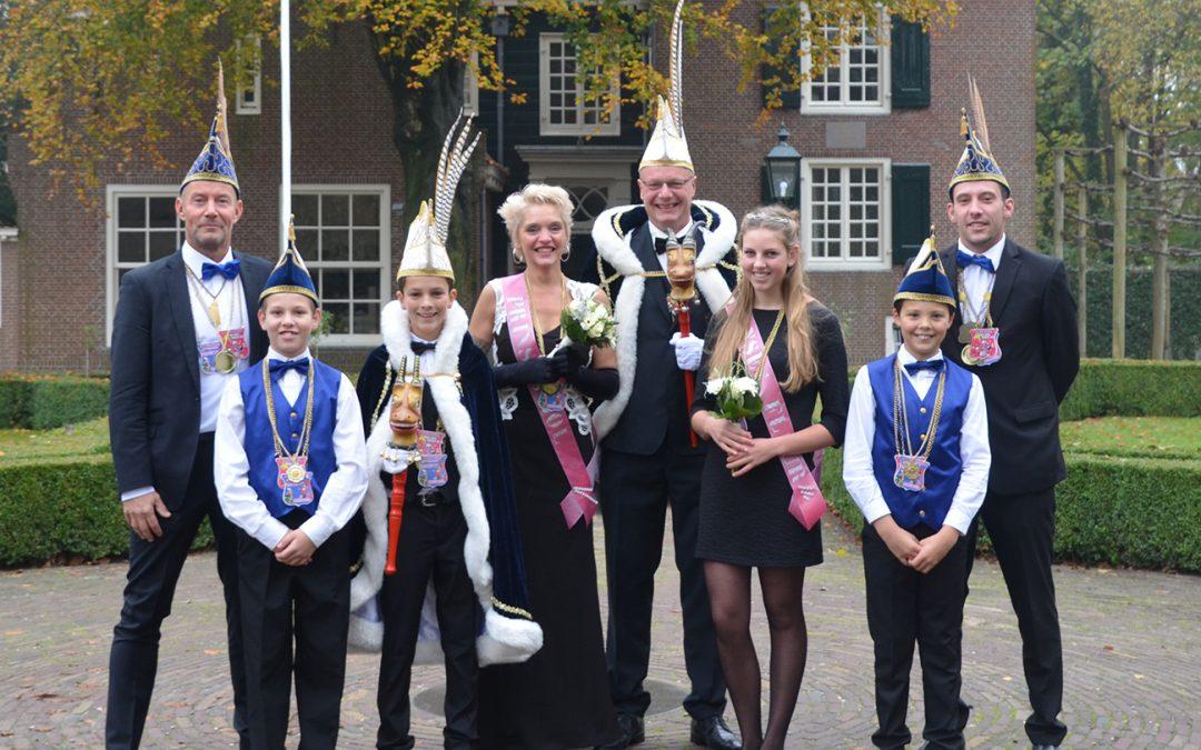Carnavalsvereniging de Bokken presenteert nieuw prinsenpaar