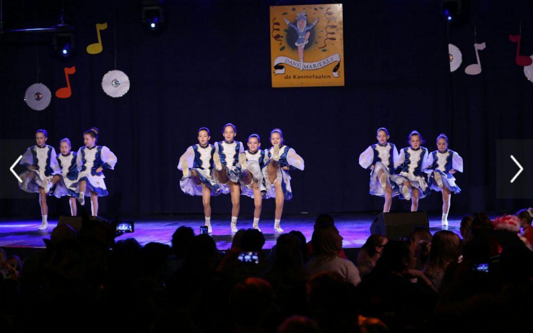 Dansmariekes CV de Bokken vallen in de prijzen tijdens Dansmariekefestival