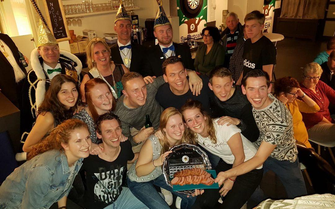 Bloemenbuurt winnaars Bokkenballentoernooi 2018