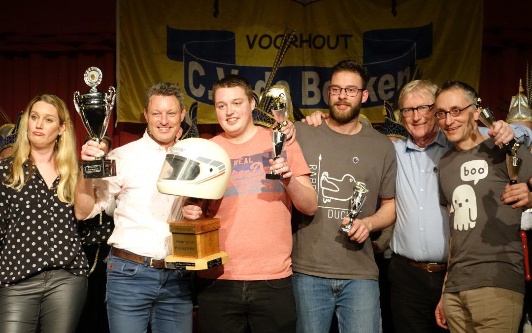 Jan-Piet & Timo Does in de prijzen tijdens Kuipzwammen
