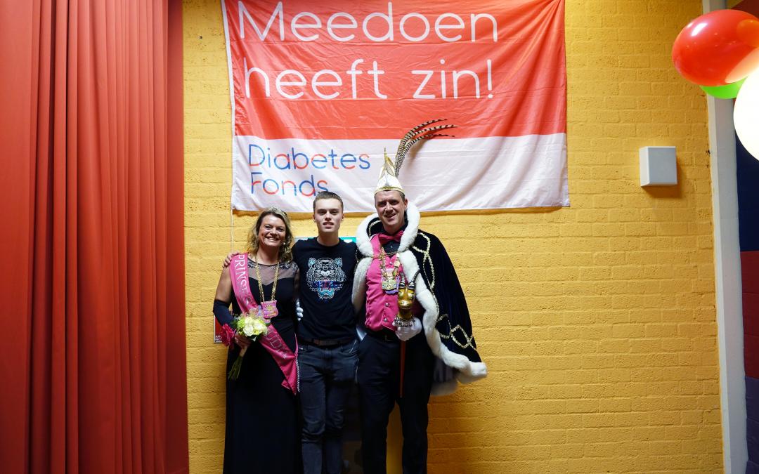 Diabetes fonds staat in de spotlights – Het goede doel van dit carnavalsseizoen