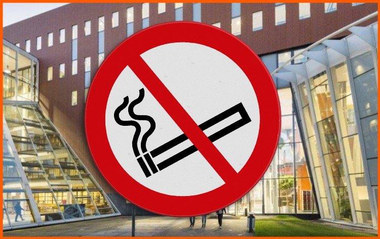 Rookbeleid tijdens Kuipzwammen